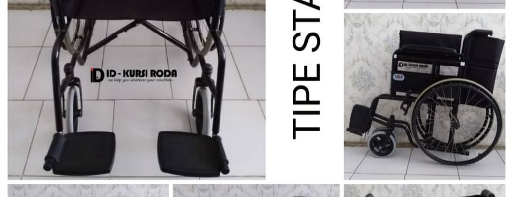 Penyewaan Kursi Roda Standar