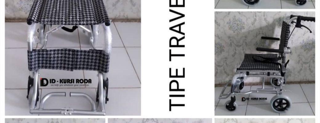 Penyewaan Kursi Roda Traveling Small